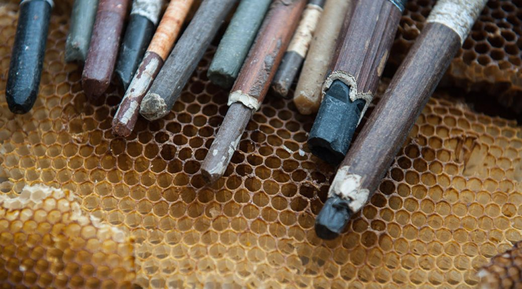 Handcrafted Beeswax Crayons
