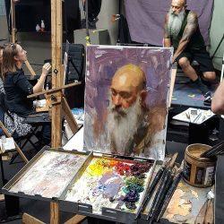 John A. Carrasco - Artist Model - 2 - Daniel J.Keys