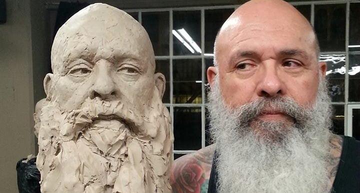 John A. Carrasco - Artist Model - Augie La Rue Sculpture