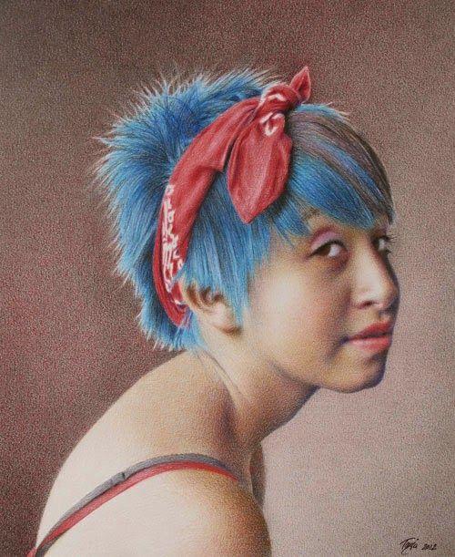 Colored Pencil - Tanja Gant