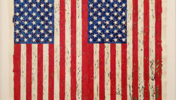 Millionaire Artists - Two Flags, Jasper Johns