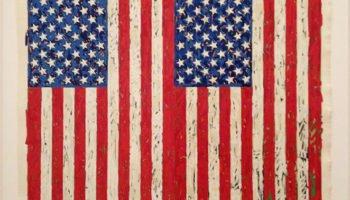 Millionaire Artists - Two Flags, Jasper Johns